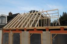 Realisatie aanbouw (100 m2)